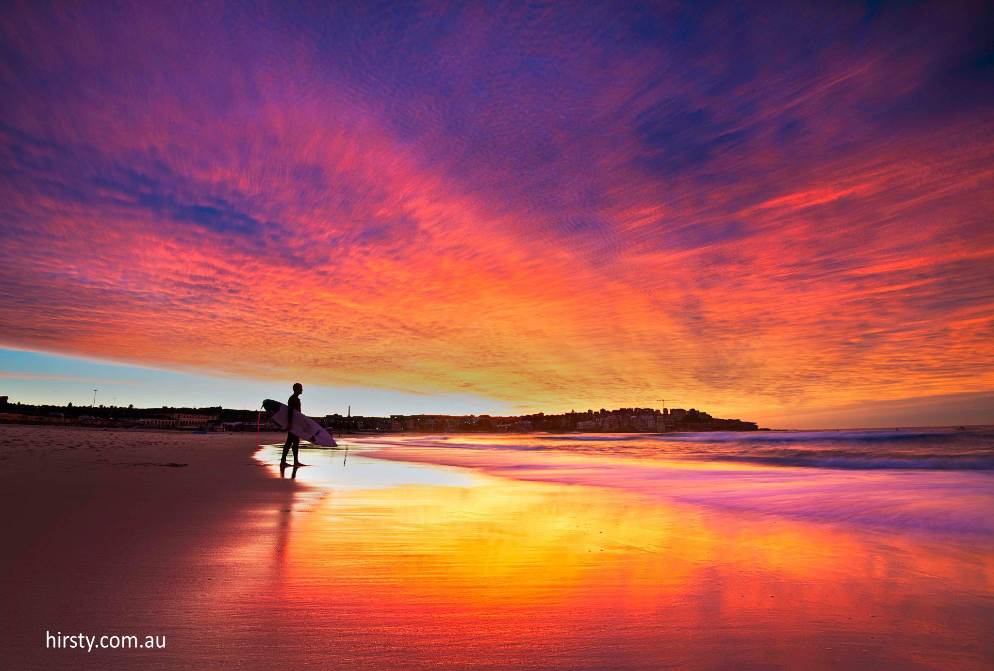 morning-surfing